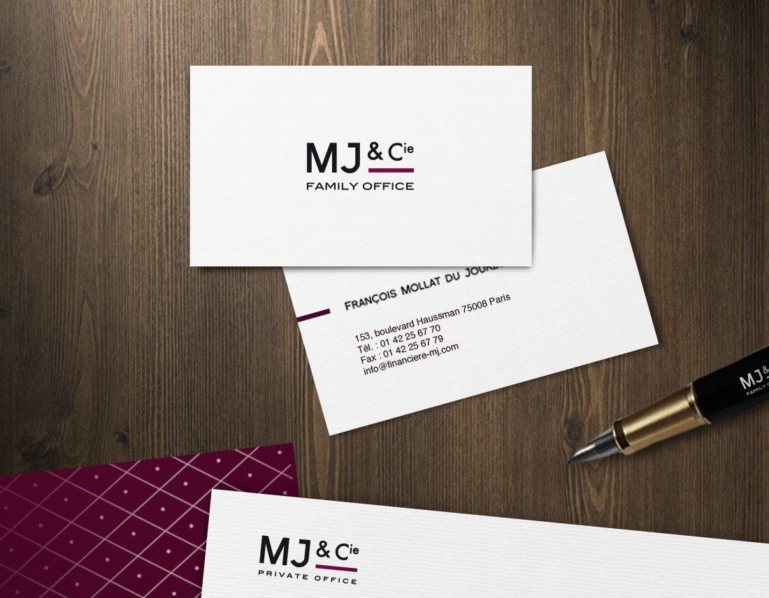 identité graphique Mj&Cie