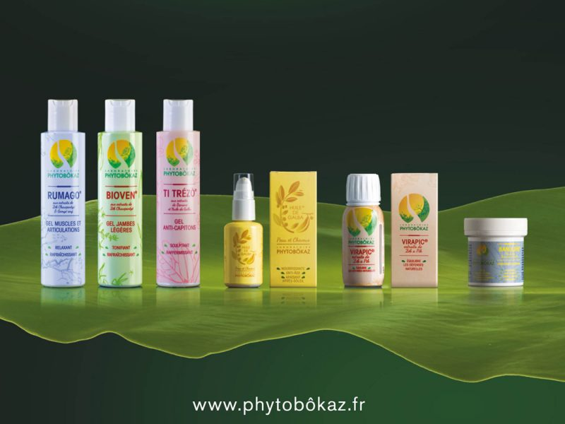 Gamme de produits Phytobôkaz.