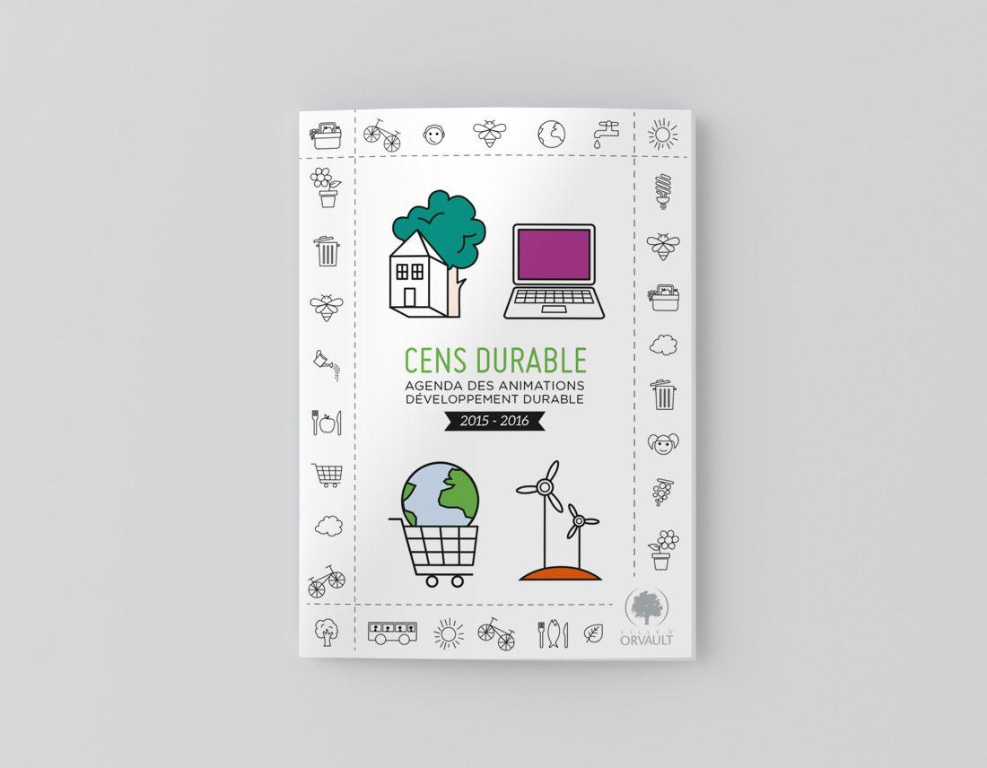 Création de l'Agenda Cens Durable pour la ville d'Orvault